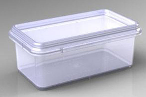 Cut Comb Container Half