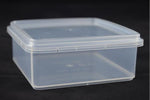 Cut Comb Container Square 400gm