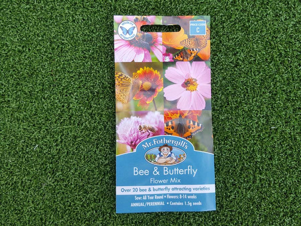 Bee and butterfly seed mix