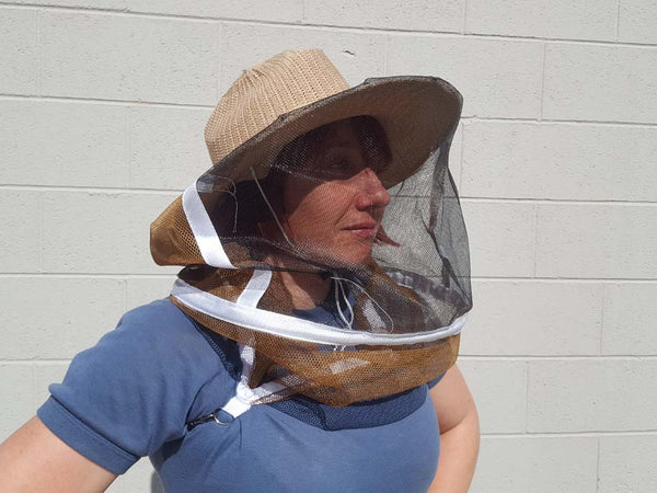 Beekeepers hat with veil