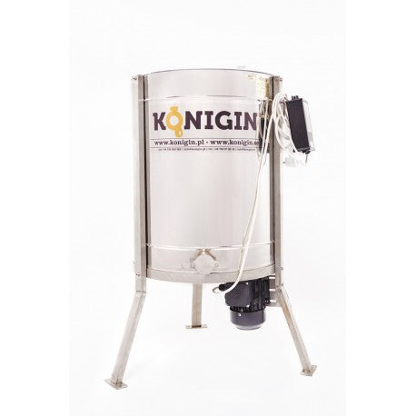 4-frame Konigin honey extractor tangential semi-automatic electric drive