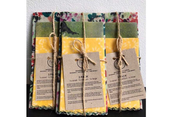 Beeswax Wraps set of 3