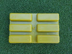30g x 6 wax bar mould