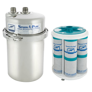 "Spark-L-Pure® Microfiltration System with 1"" SS NPT Ports and AP-7 Module"