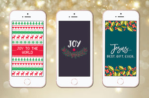 Christmas Holiday Phone Wallpapers