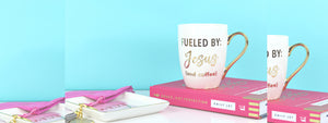 Fueled by Jesus and Coffee Mug | Christian Coffee Mug | Gifts for Christian Women