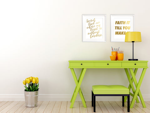 how to add inspiration to your home, christian home decor