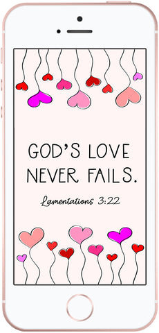 Scripture phone wallpaper, lamentations 3:22
