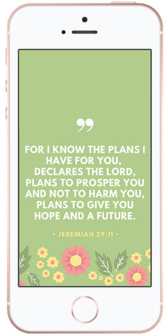 Scripture Phone Wallpapers Jeremiah 29 11 Proverbs 31 26 Doses Of Grace