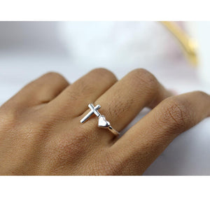 God Is Love Ring