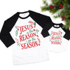 Jesus Is The Reason Raglan - Adult
