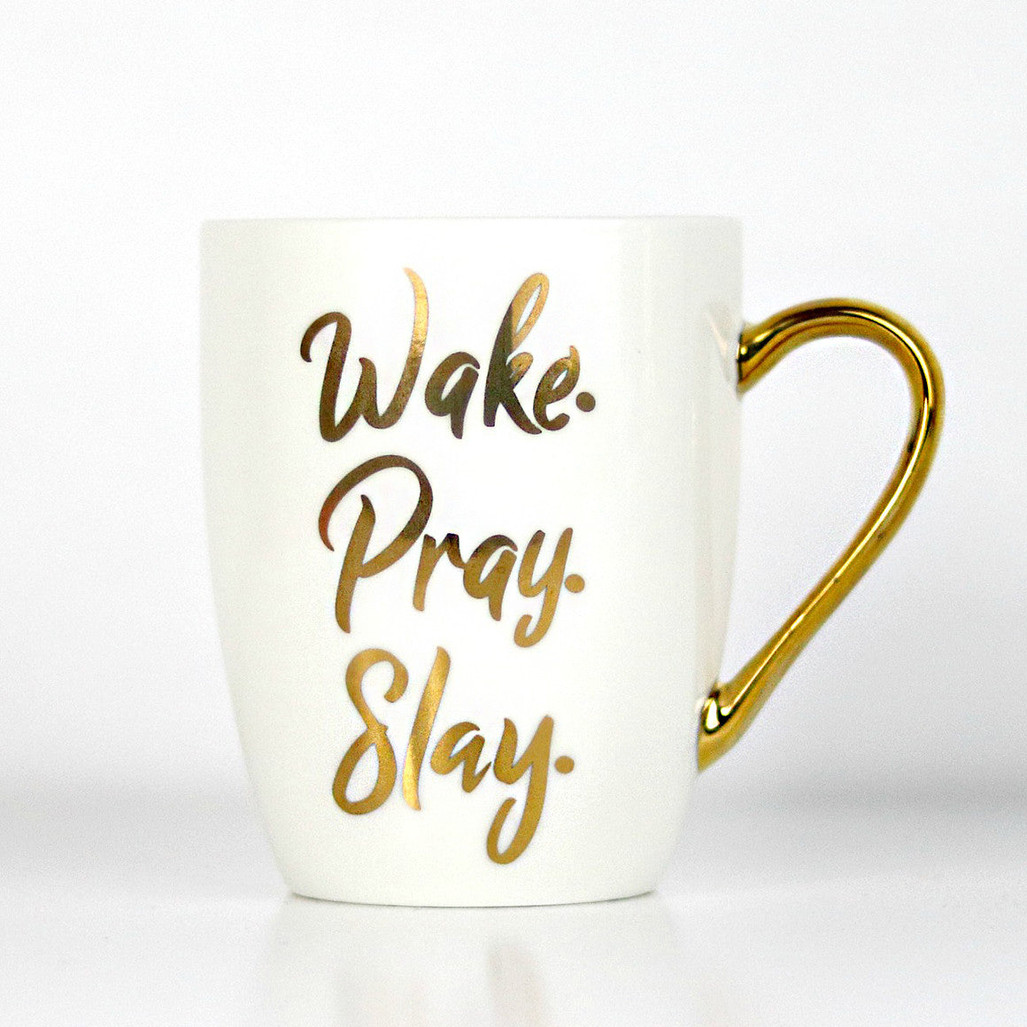 Wake pray slay mug, Christian home decor, Christian Mugs, Christian gifts, Doses of Grace