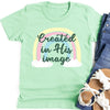 Created In His Image Kids Tee