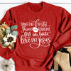 Give Like Santa, Love Like Jesus Sweatshirt Deal