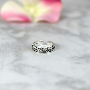 Daughter of a King Crown Ring