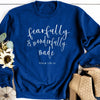 Fearfully & Wonderfully Made Royal Sweatshirt
