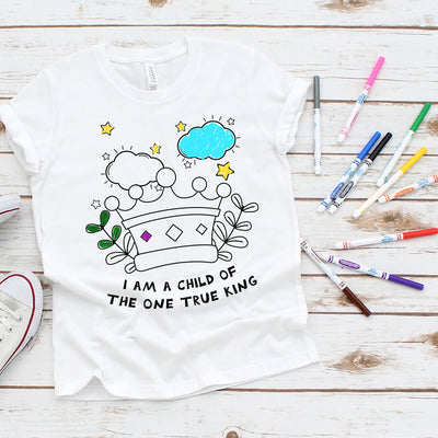 Child of the King | Kid's Coloring Tee