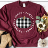 Jesus, Family, Friends, Thankful Sweatshirt