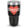 Jesus Loves This Hot Mess 30oz Tumbler