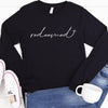 I Am Redeemed Long Sleeve Tee