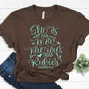 More Precious Than Rubies - Proverbs 31:10 Tee