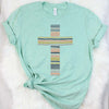 Striped Cross Tee