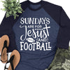 Sundays Are For Football & Jesus Raglan