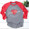 You Are Loved Forever - Romans 8:38 Raglan