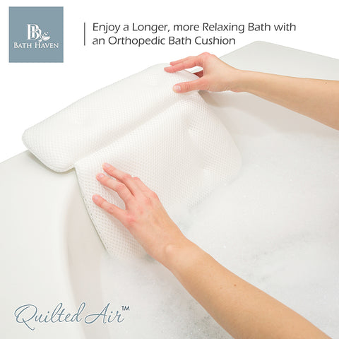 spa bath pillow superior comfort