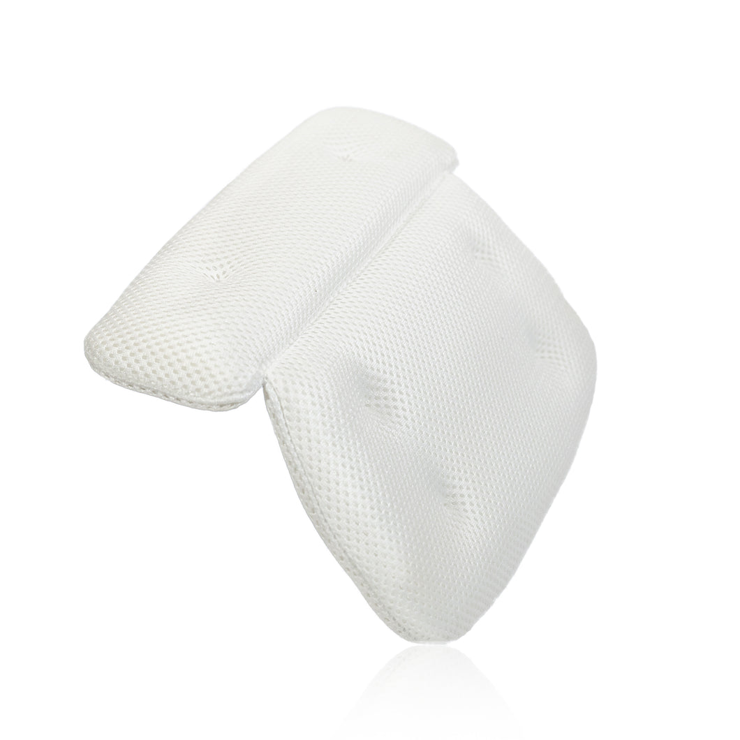 spa bath pillow front