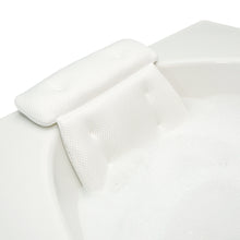 Load image into Gallery viewer, spa bath pillow secure placement