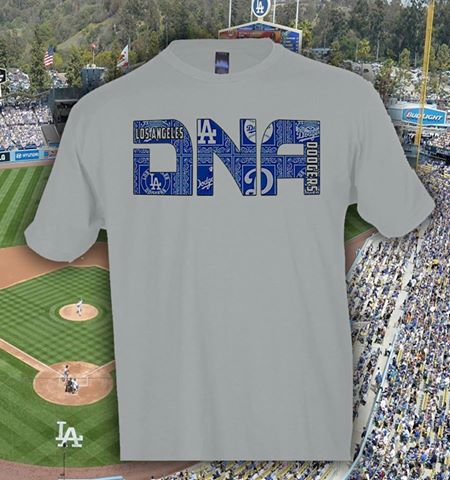 Dodgers DNA Tshirts