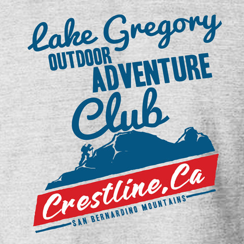 Lake Gregory Adventure Club Hiking T-shirt