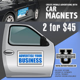 "12""x24"" Auto Door Magnets (2 for $45)"