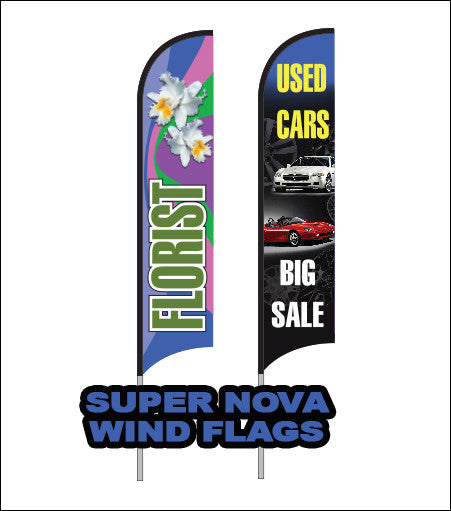 Wind Flag (Super Nova Complete Kit)