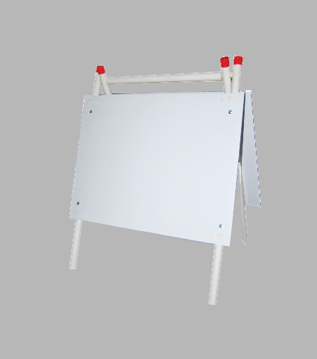 PVC A-Frame Display