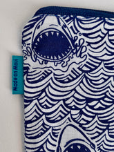 Load image into Gallery viewer, tini Manini Coin Purse :: Sharks!!