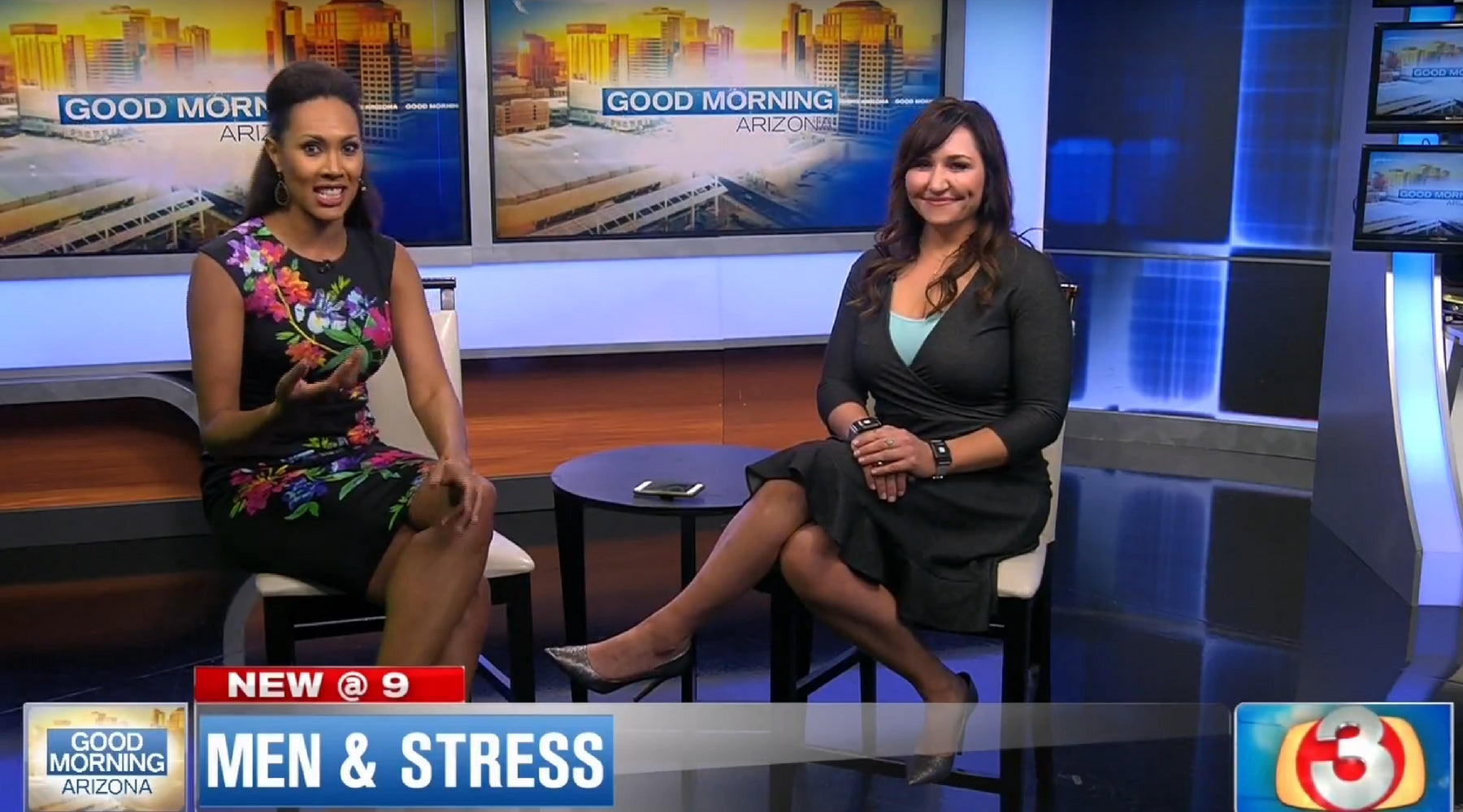 3TV Good Morning Arizona - Dr. Amy Serin and TouchPoints™ on Good Morning Arizona (3TV): Men & Stress