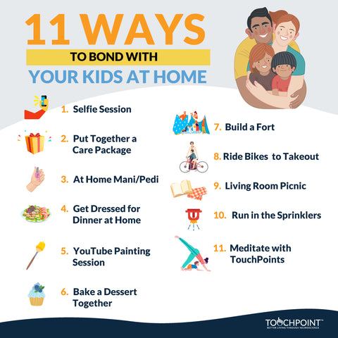 11 Ways to Bond with Your Kids at Home