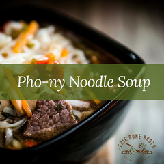 Recipe - Pho-ny Beef Noodle Soup