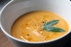 Golden Squash and Apple Soup Recipe
