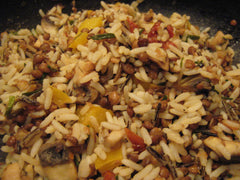 Pecan and Cranberry Wild Rice Pilaf