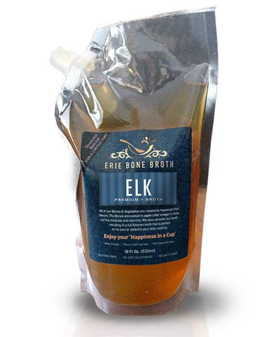 Elk Bone Broth (6 Pouches)