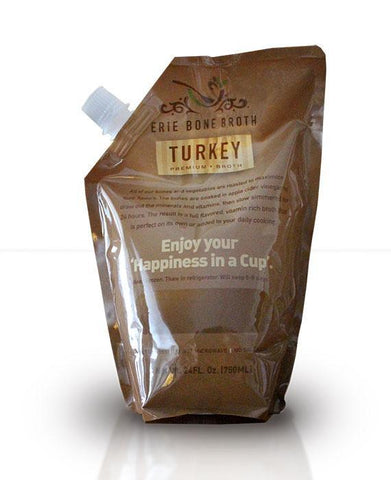 Turkey Bone Broth (6 Pouches)