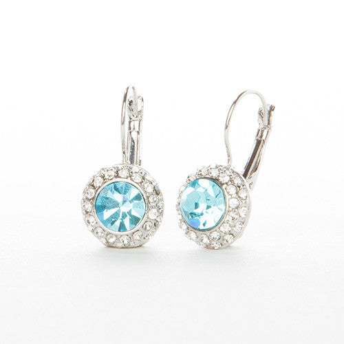 Austrian Crystal Princess Earrings - StyleBun
