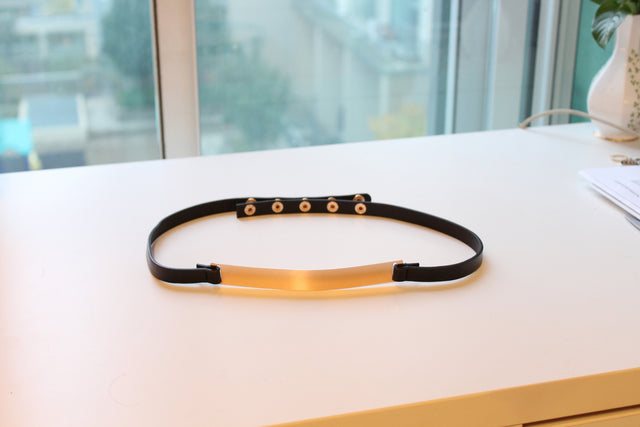 Gold Plated Waist Belt - StyleBun