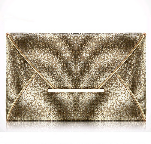 Gold Sequin Clutch - StyleBun