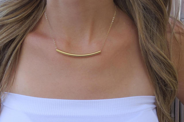 Gold-Plated 'Balance' Necklace - StyleBun