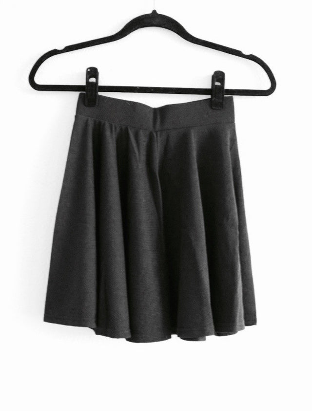 Black Skater Skirt - StyleBun