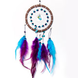 Purple and Turquoise Dreamcatcher